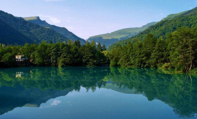 голубое озеро inrussiatoday